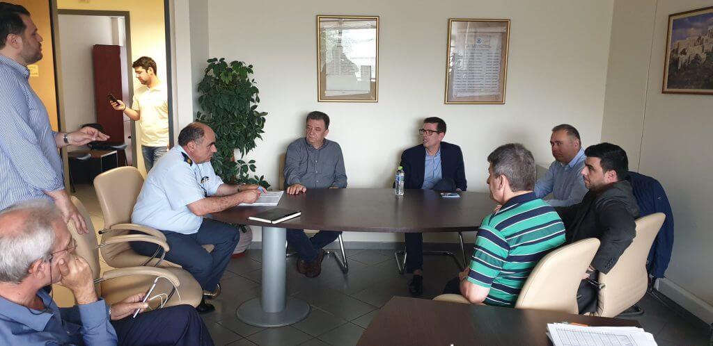 Επίσκεψη στην Αστυνομική Διεύθυνση Βορειοανατολικής Αττικής