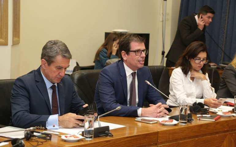 Κοινή συνεδρίαση της Ε.Δ. Επιτροπής Ευρωπαϊκών Υποθέσεων και αντιπροσωπείας της Ιταλικής Βουλής(14.11.2019)
