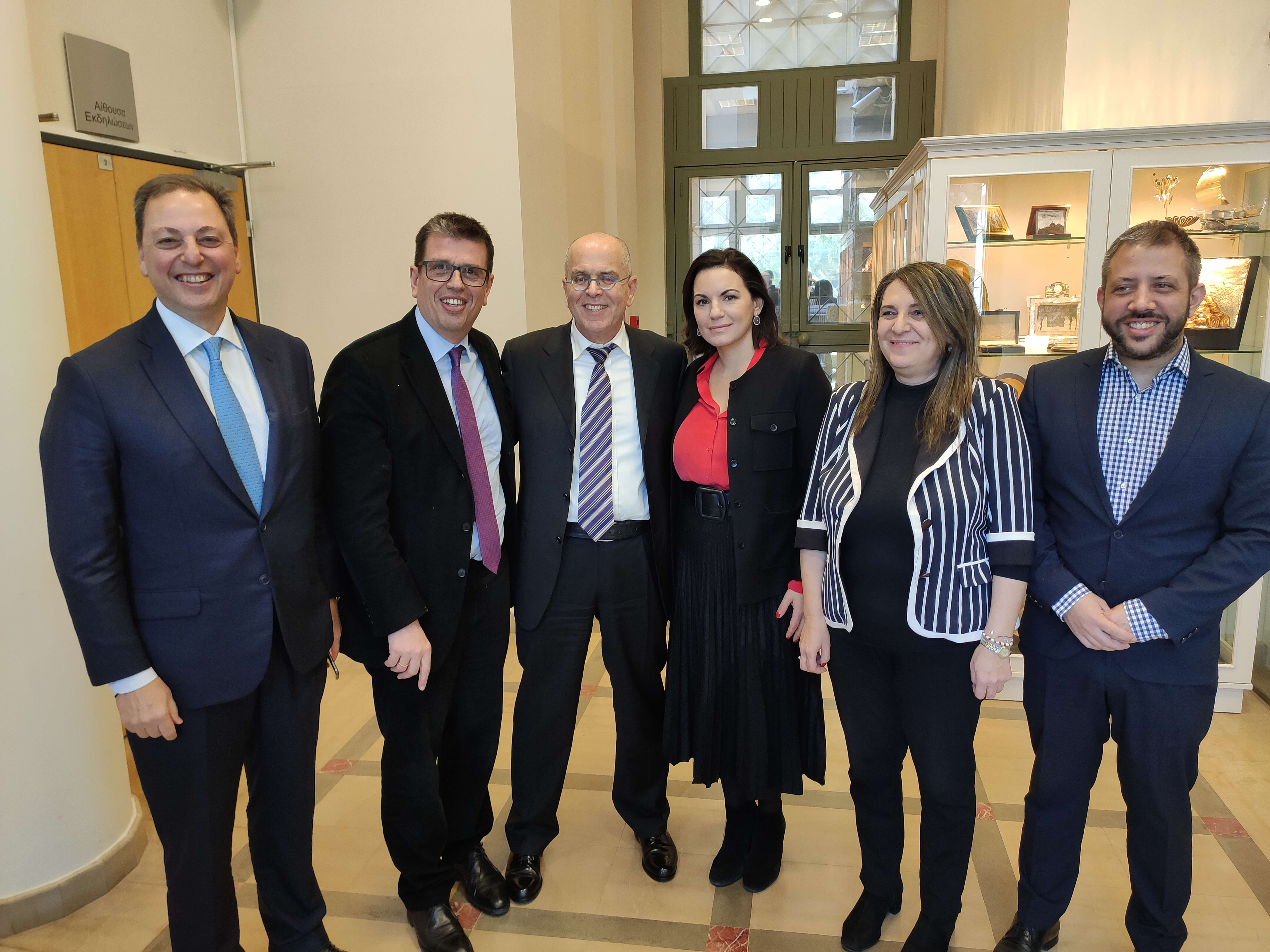 H ελληνο-ισραηλινή συμμαχία ανάχωμα στον τουρκικό επεκτατισμό (ΚΟΦ Ελλάδας-Ισραήλ, 26.02.2020)