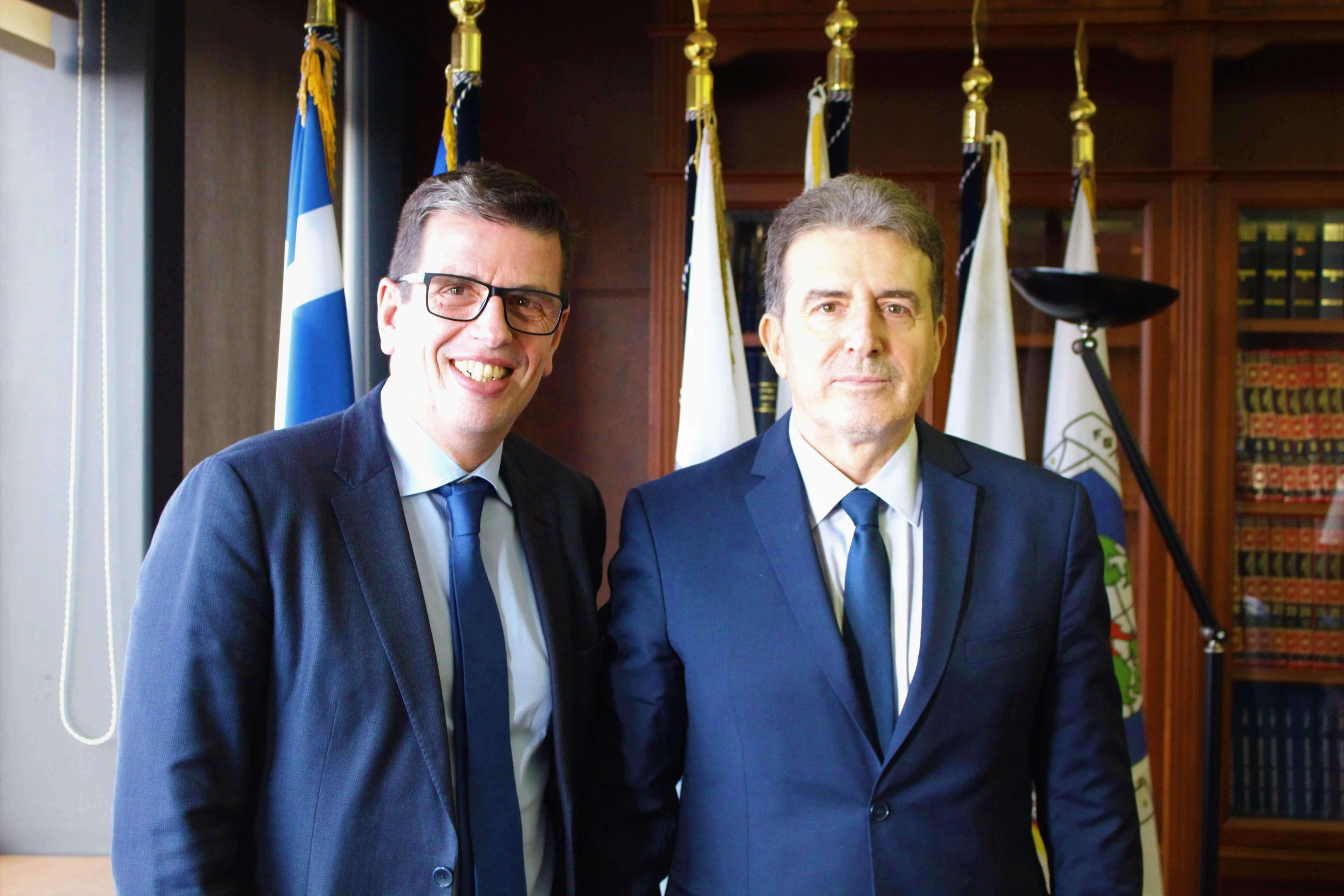 Συνάντηση με τον Υπουργό Προστασίας του Πολίτη Μιχάλη Χρυσοχοΐδη (15.01.2020)