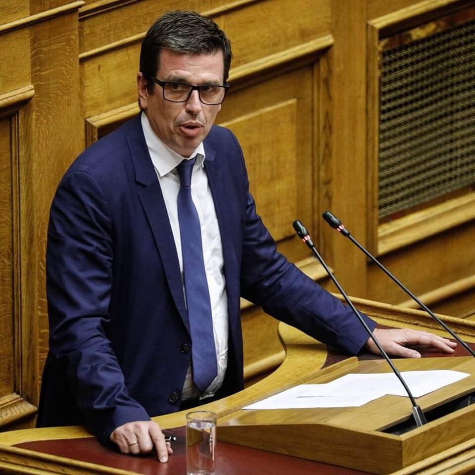 Βουλευτής του Ελληνικού Κοινοβουλίου