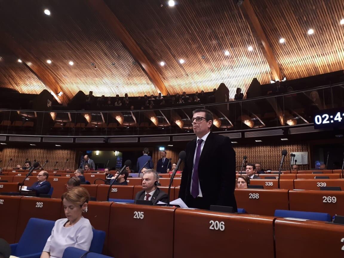 Στρασβούργο-Αθήνα: Ενωμένοι πετυχαίνουμε (Συμβούλιο της Ευρώπης, 31.01.2020)