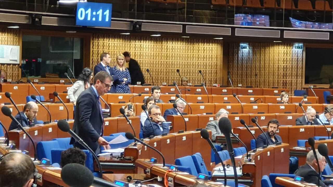 Η Ελλάδα αναλαμβάνει από σήμερα την προεδρία του Συμβουλίου της Ευρώπης (15.05.2020)
