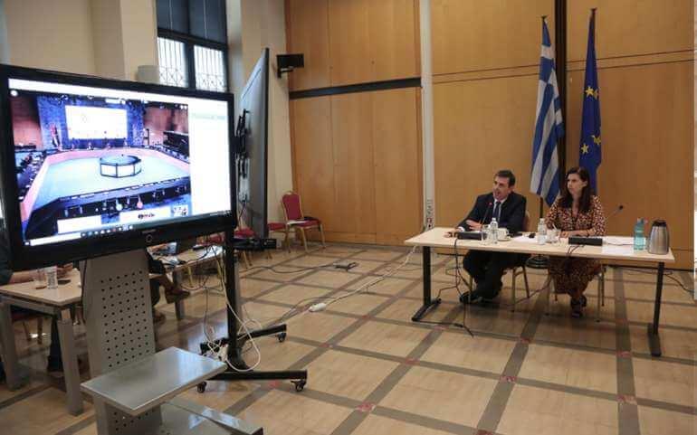 Συνεδρίαση της COSAC στο πλαίσιο της Κροατικής Προεδρίας της ΕΕ (Ε.Δ. Επιτροπή Ευρωπαϊκών Υποθέσεων, 16.06.2020)