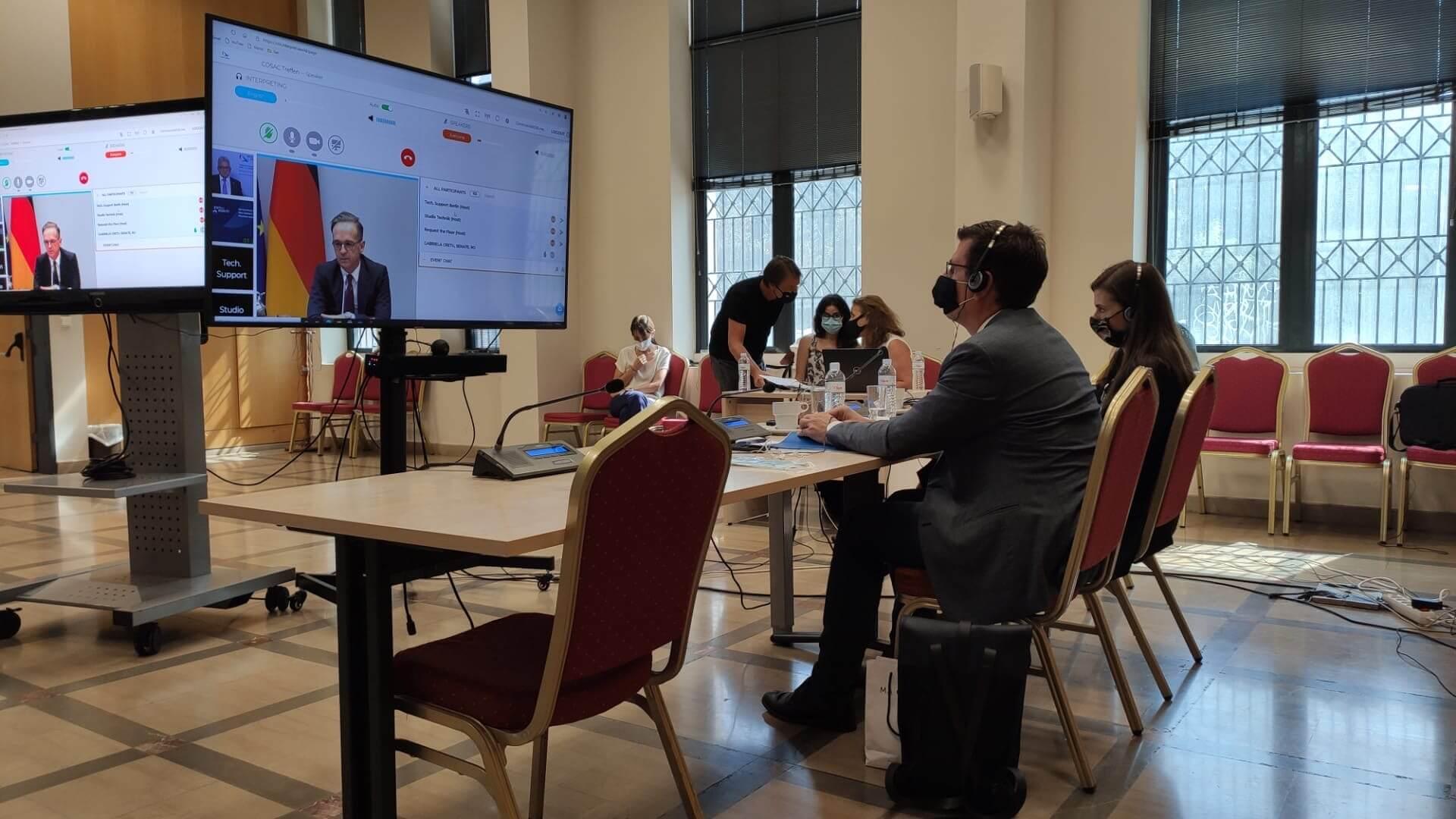 Η Τουρκία και η Σύνοδος των Εθνικών Κοινοβουλίων της Ευρώπης, 14 Σεπτεμβρίου 2020