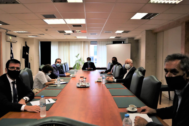 Συναντήσεις Ομάδας Εργασίας της Διακομματικής Επιτροπής για τη Θράκη με τους Υπουργούς Άδωνι Γεωργιάδη και Μάκη Βορίδη (24.09.2020)