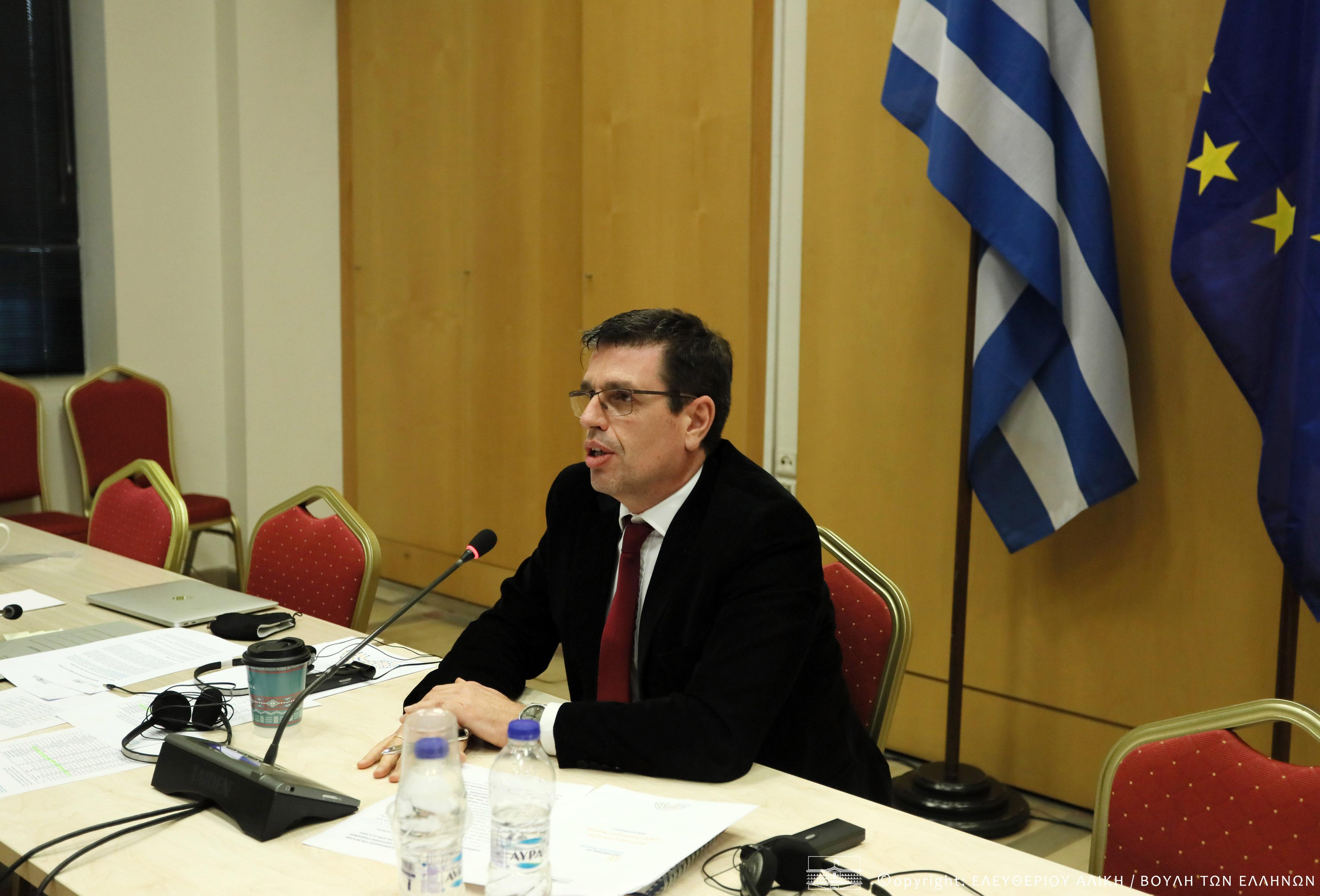 Εκπροσωπώντας τη Βουλή των Ελλήνων στην Ευρώπη στην έναρξη της Πορτογαλικής Προεδρίας (COSAC)