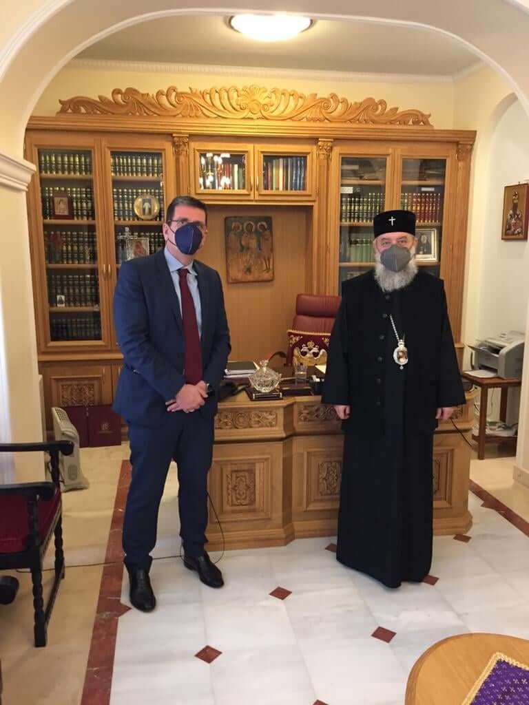 Συνάντηση με τον Μητροπολίτη Κηφισιάς, Αμαρουσίου και Ωρωπού, Κύριλλο