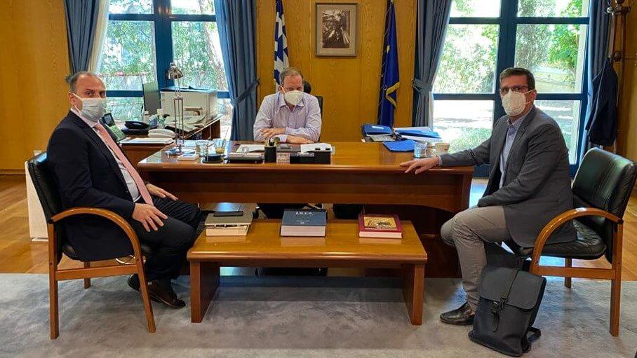 Συνάντηση με τον Υπουργό Υποδομών & Μεταφορών