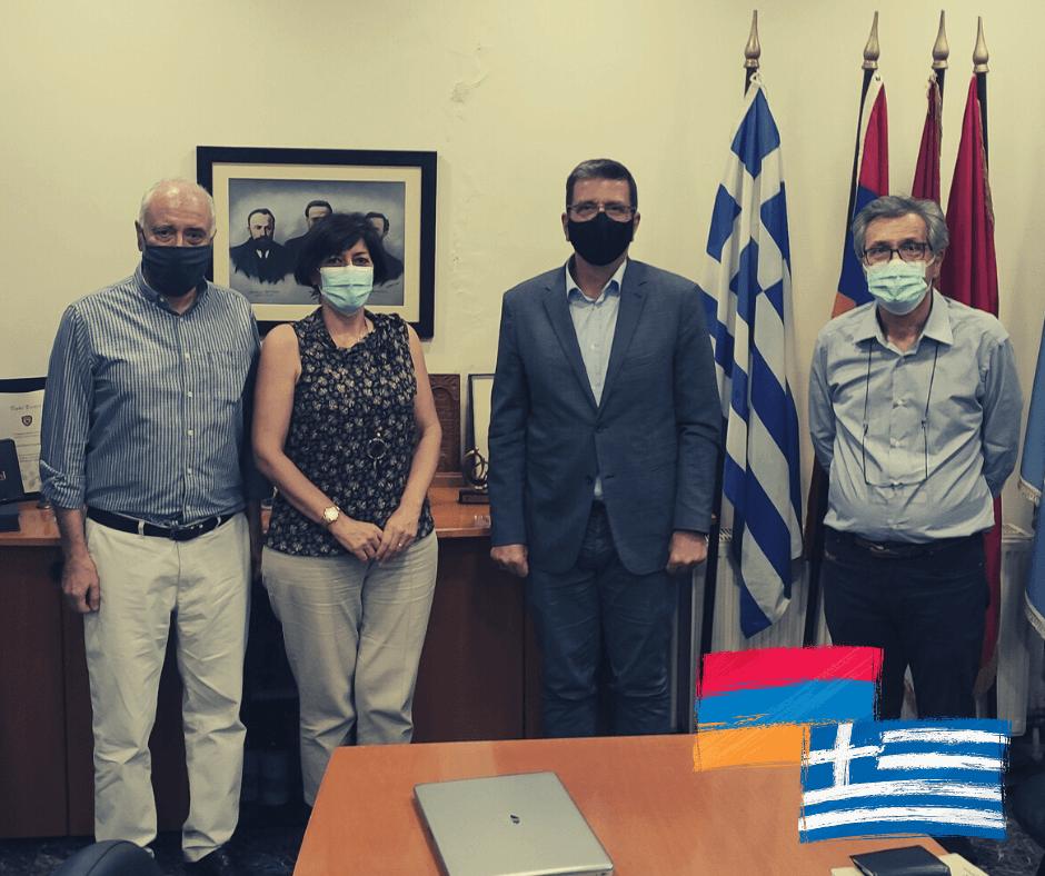Συνάντηση με την Αρμενική Εθνική Επιτροπή Ελλάδος